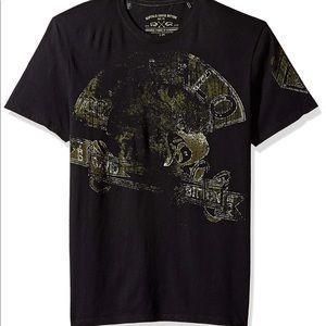 Buffalo David Bitton Tamet Black T Shirt Large